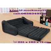 โซฟาปรับนอน สีดำ Intex Pull-Out Sofa.  Queen Bed (68566) คุณภาพดี ราคาถูก