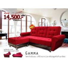 โซฟา L-shape 3ที่นั่ง พร้อม สตูล รุ่น GAMMA