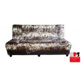 Sofa Bed โซฟาปรับนอน 3ที่นั่ง ลายเสือ